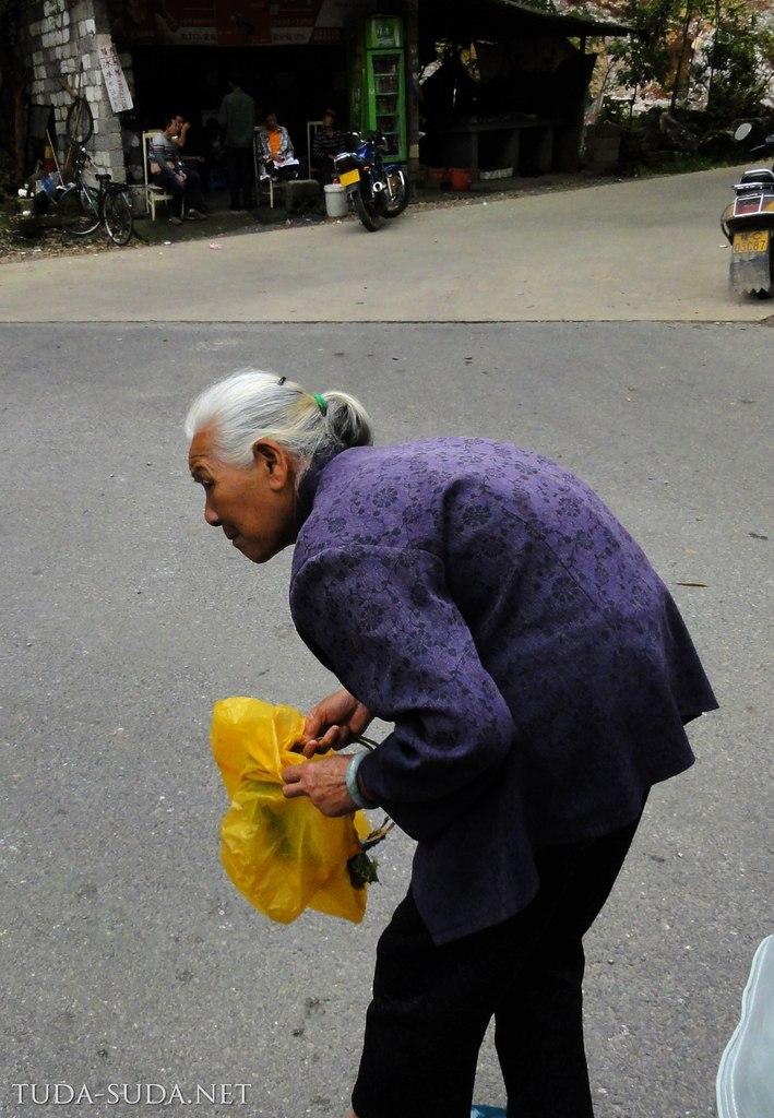 Бабушка в Яншо
