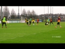Training beim BVB