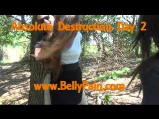 Belly punching brasil