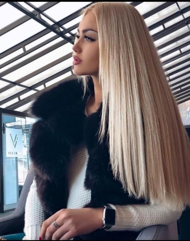 Любите прямые волосы?