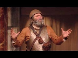 Shakespeare's Globe Theatre: Falstaff (Roger Allam) and Hal (Jamie Parker) in Henry IV