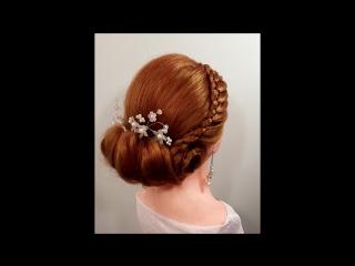 Прически греческая на длинные средние волосы. Прическа в  греческом стиле, 4- х прядное плетение коса Greek Hairstyle