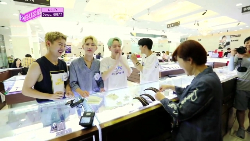 K-RUSH3 A.C.E (KBS World Idol Show), 10.08.2018 (русаб)