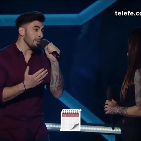 """La Voz Argentina on Instagram: """"¿Sabés la letra de El día que me queiras de Carlos Gardel? 😊🎤 ¡Cantala con Javier y Natalia Lara del TeamSole pe..."""