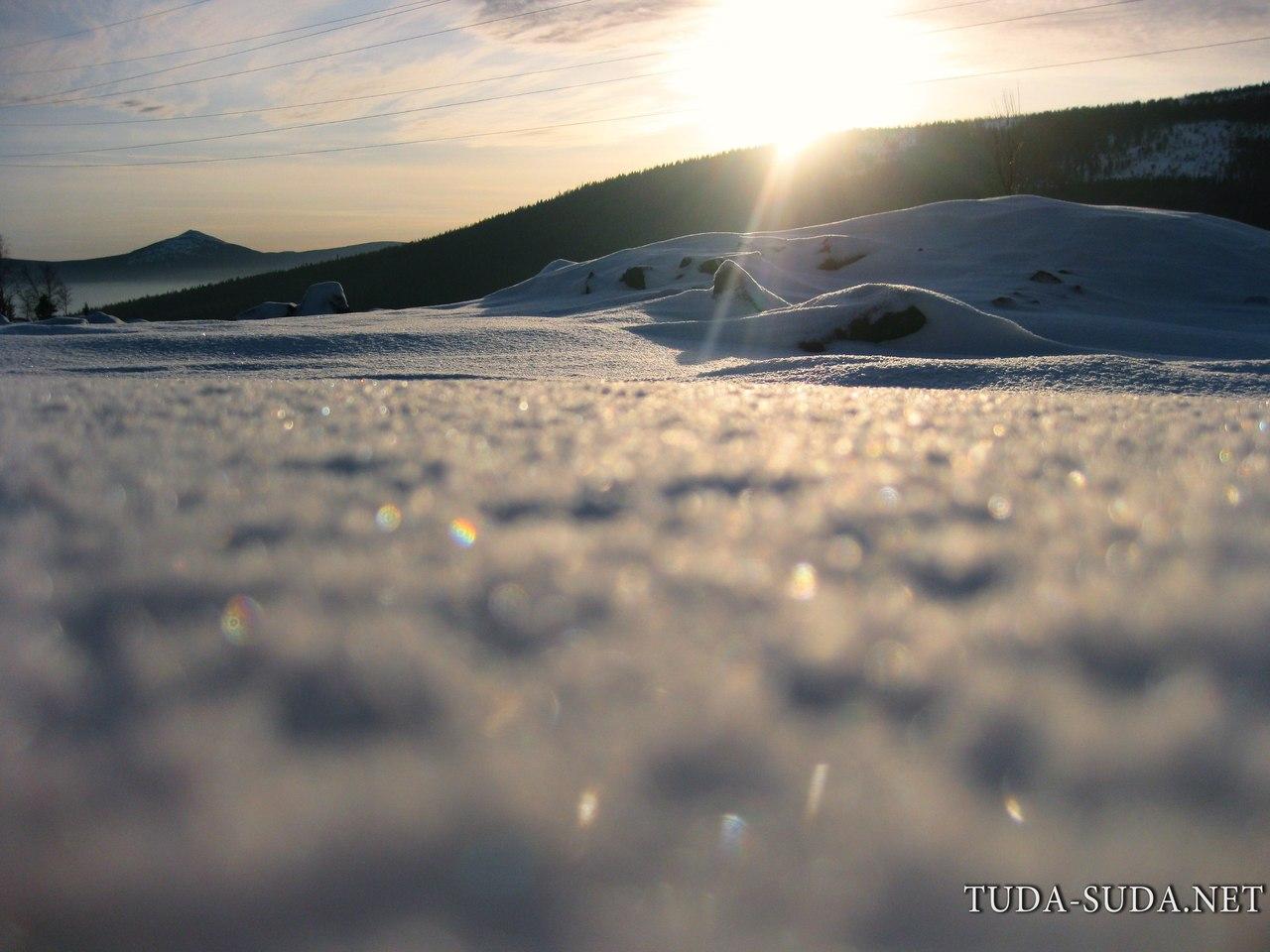 Кытлым снег