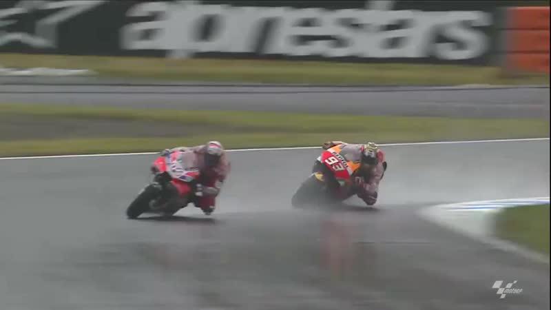 Дови vs Марк - вспоминая прошлогодний ГП Японии video@motogpru
