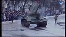 С прибытия ретропоезда и масштабного парада началась 75-я годовщина освобождения Новгорода