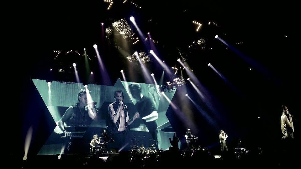 Depeche Mode в Киеве 2013