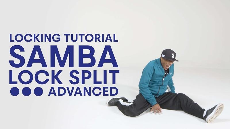 Locking with Tony Gogo | Samba Lock Split Advanced