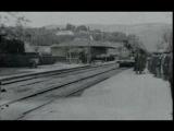 Прибытие поезда на вокзал Ла-Сьота (фр. LArriv