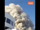 Пожар в Критском университете