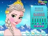 Игры Холодное сердце одевалка Макияж (Elsa Frozen Haircuts)