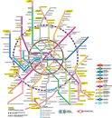Новая схема Московского метро.
