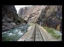 Royal Gorge Route Railroad Driver's Eye View