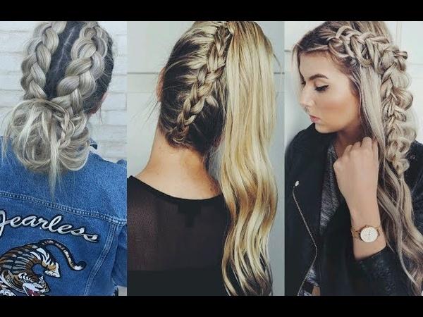 Peinados Faciles Y Rapidos Y Bonitos Con Trenzas 2017 /Easy Hairstyles