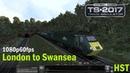 London To Swansea HST South Wales Coastal Train Simulator 2017 1080p60fps