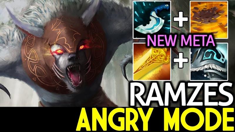 Ramzes Ursa Angry Mode with New Meta 7 18 Dota 2