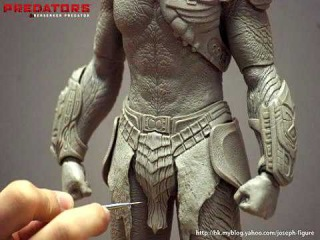 The Makings of the Hot Toys Berserker Predator 1/6 Scale Action Figure
