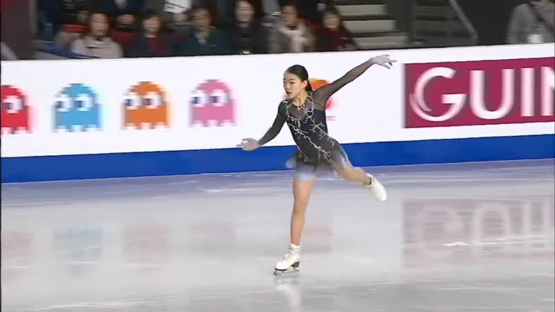 Rika KIHIRA FS Grand Prix Final