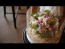 Видеоролик для магазина цветов. Искусство флористики. Фотостудия Flashback. Зал : Библиотека.
