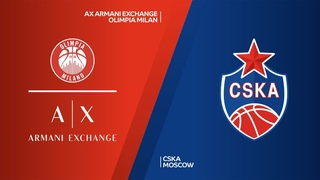 AX Armani Exchange Olimpia Milan - CSKA Moscow Highlights   Turkish Airlines EuroLeague RS Round 6. Евролига. Обзор. Милан - ЦСКА