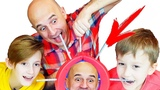 Не лопни шарик Челлендж или Boom Boom Balloon на Mark Vlad Family Channel