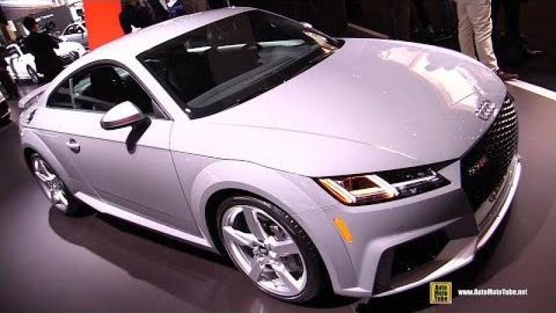 2018 Audi TT RS - Exterior and Interior Walkaround - 2018 New York Auto Show