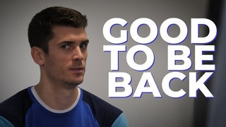 It`s good to be back! Welcome back, Matthew Anderson! / Мэттью Андерсон наконец-то с нами!