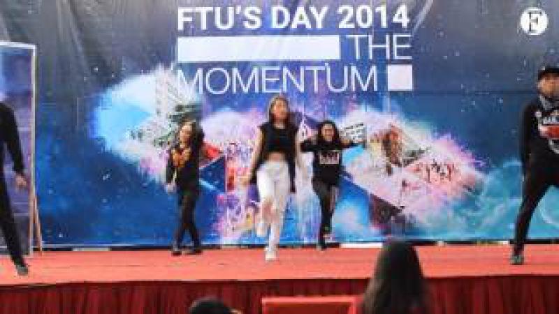 FTU's Day 2014 Chi Pu nhảy Come Back Home