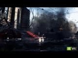 Трассировка лучей Nvidia RTX в реальном времени в трейлере Battlefield V.