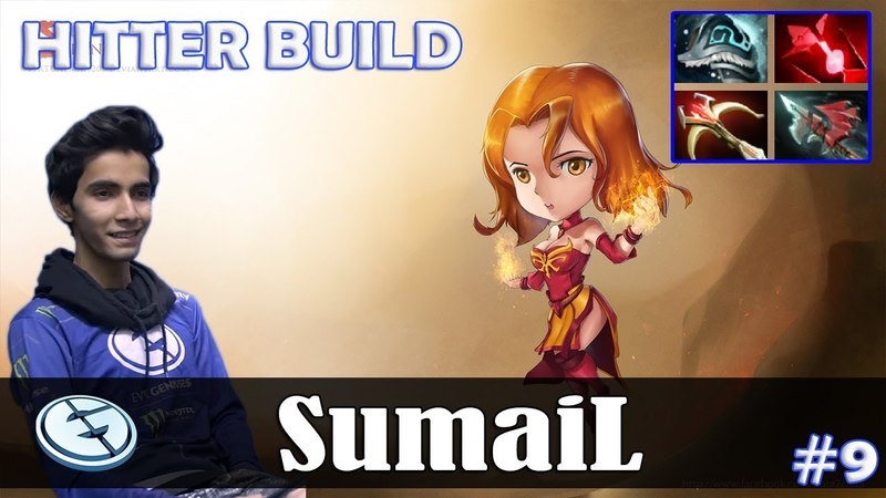 SumaiL - Lina MID | HITTER BUILD | Dota 2 Pro MMR Gameplay 9