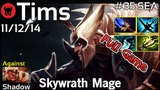 Support Tims TNC plays Skywrath Mage!!! Dota 2 Full Game 7.20