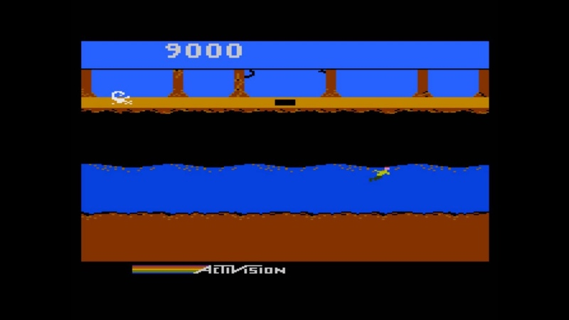 Pitfall II: Lost Caverns for the Atari 8-bit family