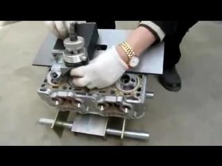 Ручной станок для ремонта головки блока цилиндров