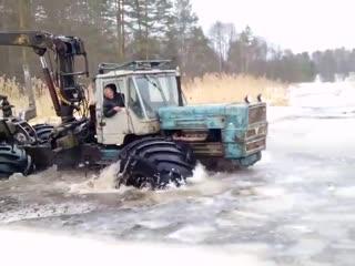 Т-150 Утопили Засодили