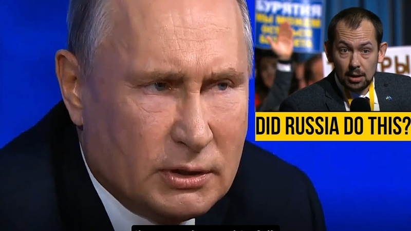 Putin Destroys Provocative Ukrainian Journalist