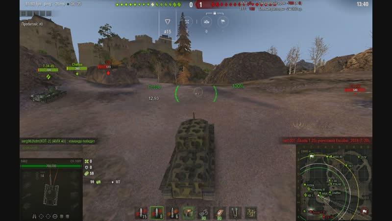 World of tanks - как нагибать на говне)