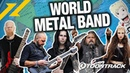 Toontrack's WORLD METAL BAND (feat. Twelve Foot Ninja, Scar Symmetry, The Agonist, and more!)