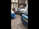 Ice cream man has road rage incident with van driver