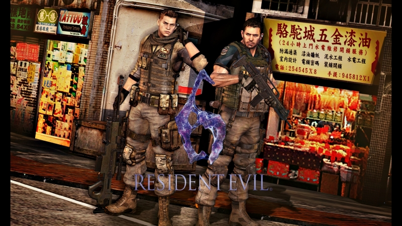 Resident Evil 6 - Chris Redfield and Piers Nivans campaign [ 4 ]