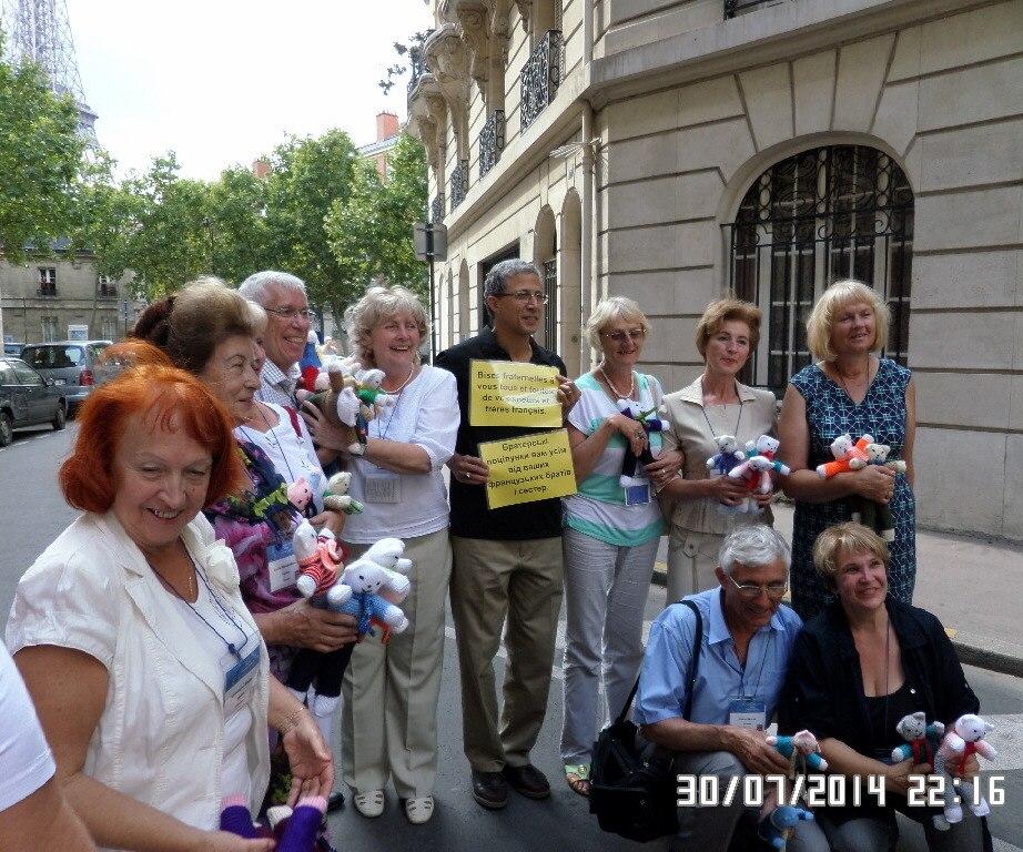 украинские теософы, президент теософического общества и президент теософского ордена служения Франции