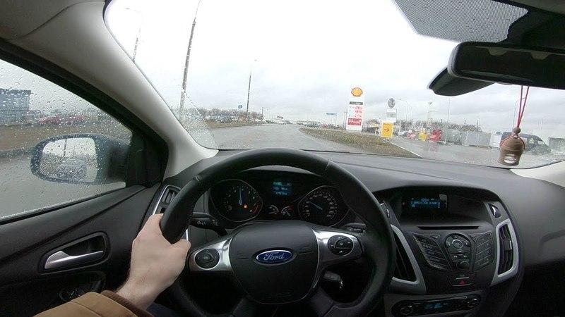 2013 Ford Focus 1.6L POV Test Drive