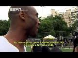Кобе Брайант встретился с Роналдиньо в Рио-де-Жанейро