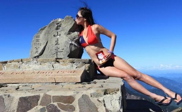 «Скалолазка в бикини» замерзла насмерть в ущелье 36-летняя Джиджи Ву, которую называли «скалолазка в