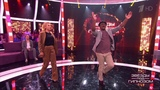 Елена Веснина и Пьер Нарцисс танцуют ламбаду. Звезды под гипнозом. Фрагмент выпуска от 19.08.2018