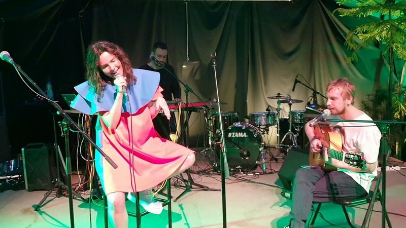 Tinavie - Песня с Нотэбёрд (Live) 30/05/2019 Оранжерея, Мск