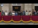 Королевская семья наблюдает за воздушным парадом с балкона Букингемского дворца 10 07 2018