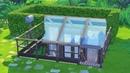 [심즈4 건축] 땅속 비밀스러운 집! 언더그라운드 하우스 (배포)   The Sims 4 Speed Build