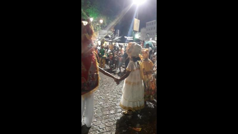 Бразилия. Сальвадор. Бразильский карнавал. Pilorinio