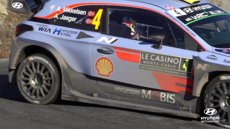 Rallye Monte-Carlo Best of_ Slow-mo - Hyundai Motorsport 2018
